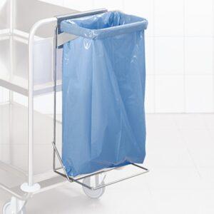 Rustfritt stålstativ for avfallspose fra AET