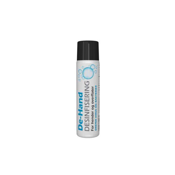 De-Hand - Desinfisering på spray med 75% alkohol fra AET
