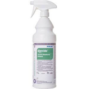 Klercide filtrert 70% denaturert etanol IMS fra AET 1 liter spray