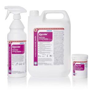 Klercide sterilt desinfeksjonsmiddel effektivt mot sporer fra AET
